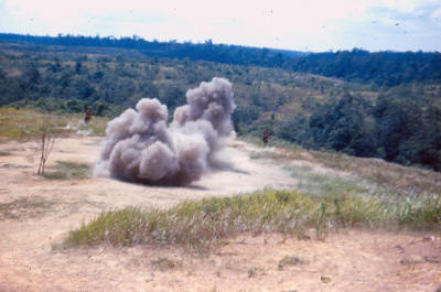 Asahan Range - claymore deployment & initiation training    [Young]