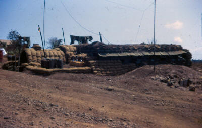 Mortar section command post  - Horseshoe 1970 [Young]