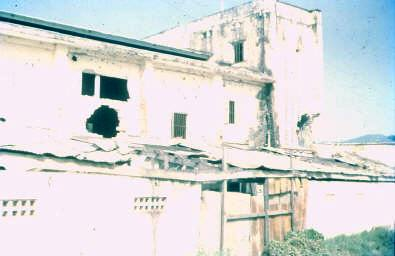 Baria cinema, destroyed during Tet 68 when occupied by NVA