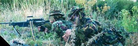 1RNZIR in the dismounted role [NZ Army website]